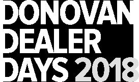 Donovan Dealer Days 2018